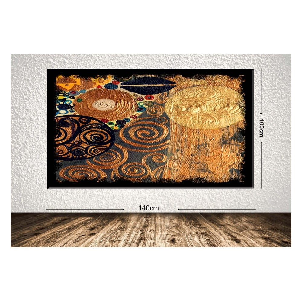 Obraz Tablo Center Golden Dream 140 x 100 cm