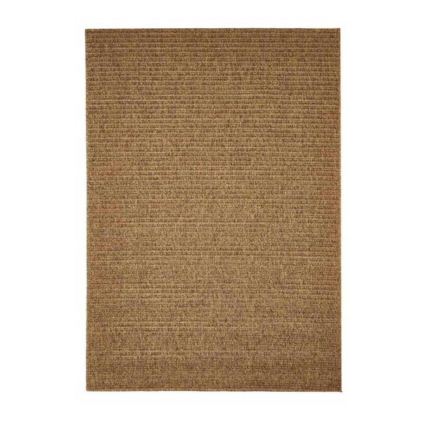 Hnědý venkovní koberec Floorita Plain, 200 x 285 cm