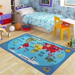 Dětský koberec World, 100x150 cm