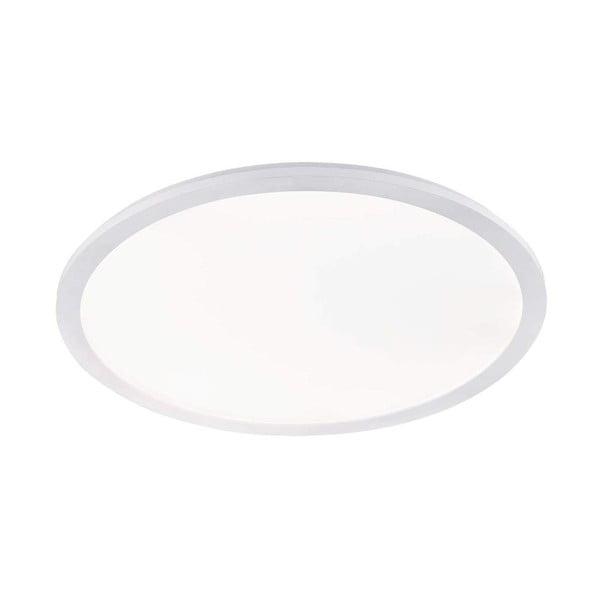 Biała lampa sufitowa LED Trio Camillus, średnica 60 cm