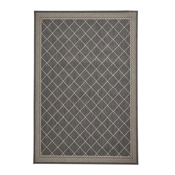 Pískovo-antracitový koberec Think Rugs Cottage, 120 x 170 cm
