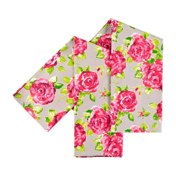 Utěrky Pink Rose, 2 ks