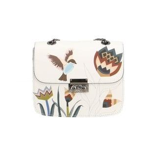 Kožená kabelka Chicca Borse Naturella Bird II