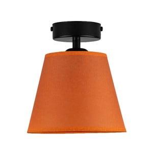 Oranžové stropní svítidlo Sotto Luce IRO Parchment, ⌀16cm