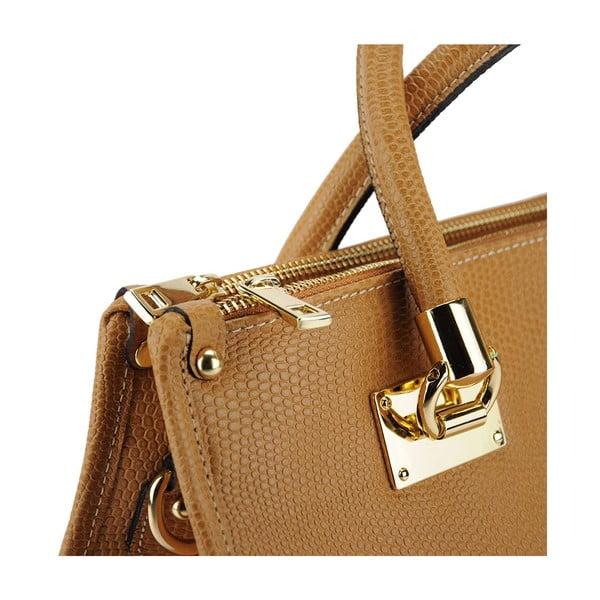 Kožená kabelka Melina Taupe