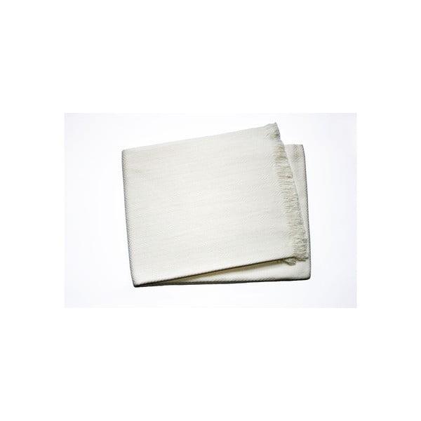 Lehká deka Skyline Cream, 140x250 cm