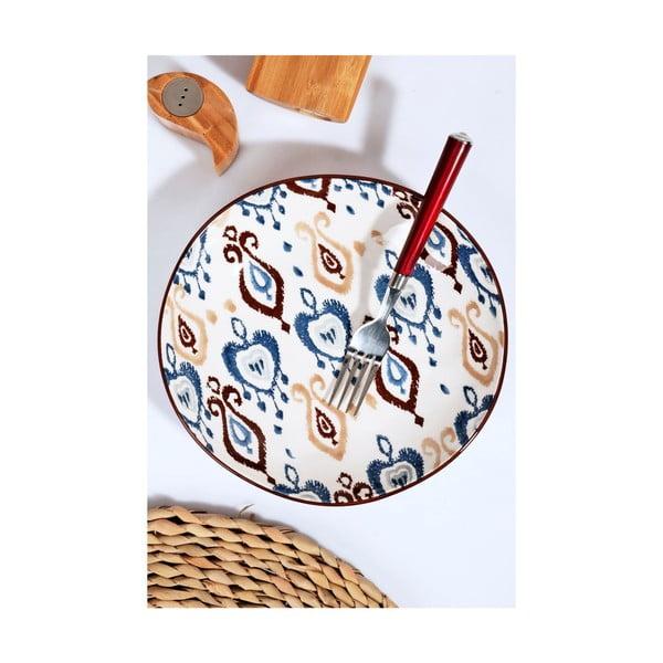 Sada 6 keramických talířů Kutahya Noah