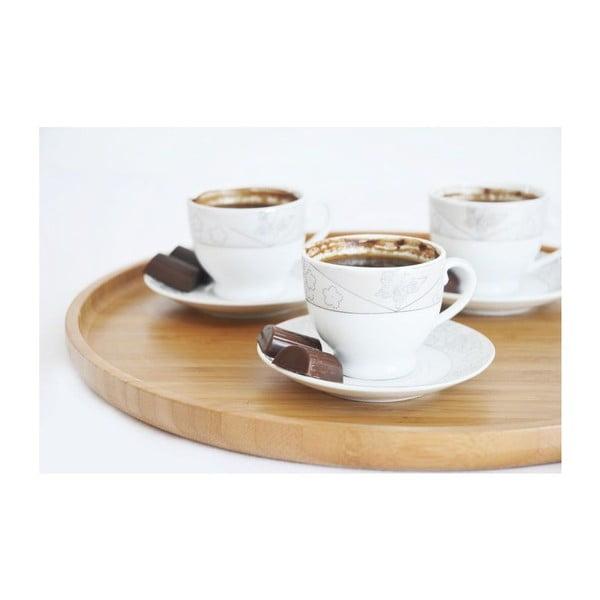 Bambusový kávový tác Bambum Capuccino