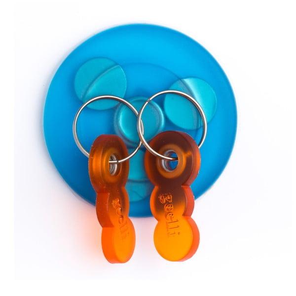 Samodržící věšák na klíče s magnetem Tiroasegno Blue