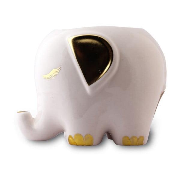 Multifunkční keramický organizér ve tvaru slona Tri-Coastal Design Elephant