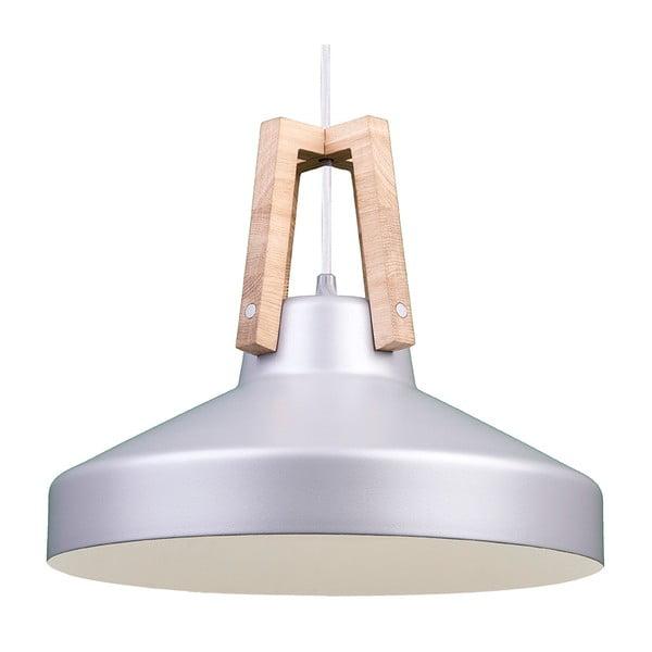 Stříbrné stropní světlo Loft You Work, 33 cm