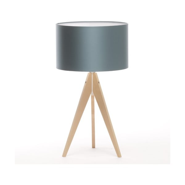Stolní lampa Artist Ice Blue/Natural Birch, 65 cm