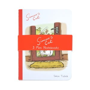 Set 3 caiete Mini Portico Designs Simon's Cat