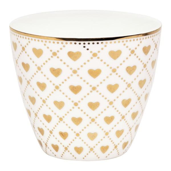 Hrnek Latte Haven gold, 300 ml