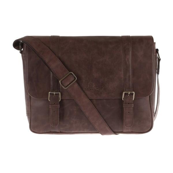 Pánská kožená taška Livingstone Large Messenger