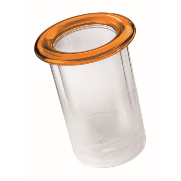 Oranžový termo držák na lahev Fratelli Guzzini Mimi