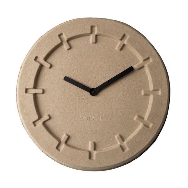 Ceas de perete Zuiver Pulp Round, bej
