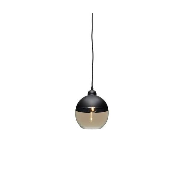 Caracol Round fekete függőlámpa - Design Twist