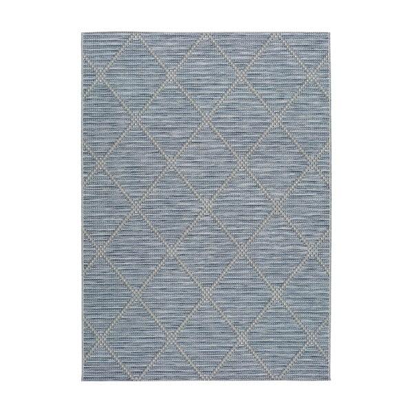 Covor pentru exterior Universal Cork, 115 x 170 cm, albastru