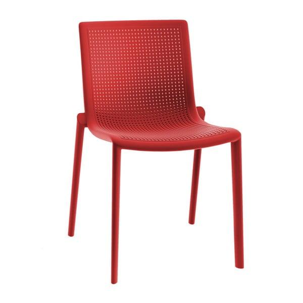 Set 2 scaune de grădină Resol Beekat Simple, roșu