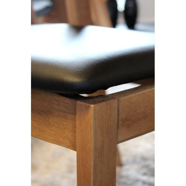 1 židle Geranium Smoked Black