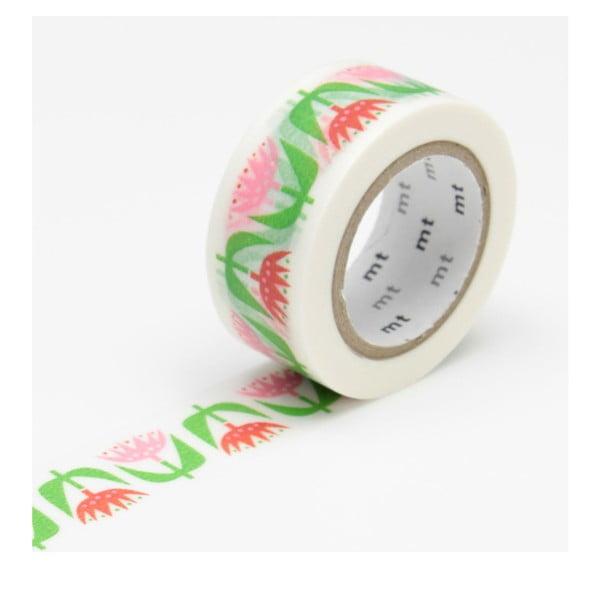 Bandă washi MT Masking Tape Tulip