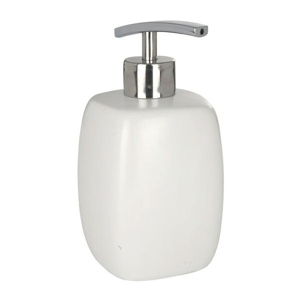 Bílý keramický dávkovač mýdla Wenko Faro, 440 ml