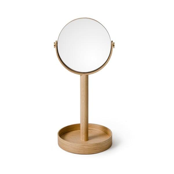 Stolní zrcadlo s poličkou Wireworks Magnify