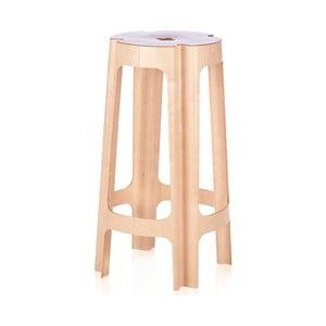Barová židle Bloom 66 cm, bříza