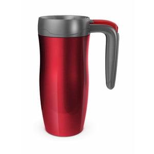 Cestovní termohrnek Randolph, red/grey