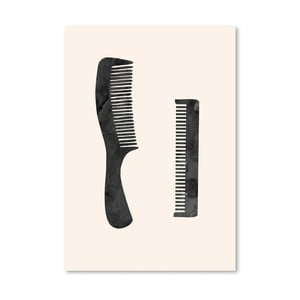 Poster Americanflat  Combs, 30 x 42 cm