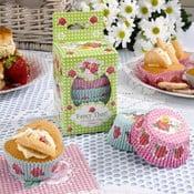 Sada 100 papírových košíčků na cupcaky Neviti Fancy That