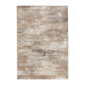 Covor Elle Decor Arty Trappes, 80 x 150 cm, maro - crem
