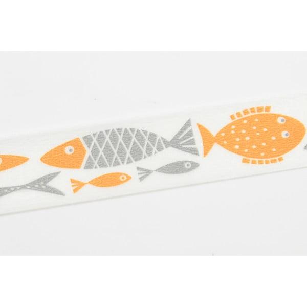 Washi páska Orange Fish