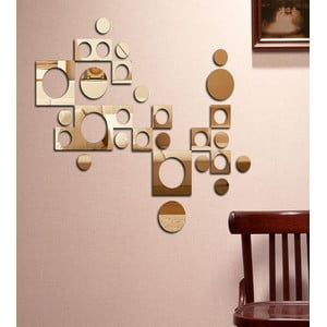 Dekorativní zrcadlo Retro geometrie