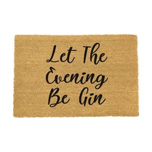 Rohožka Artsy Doormats Let The Evening Be Gin, 40 x 60 cm
