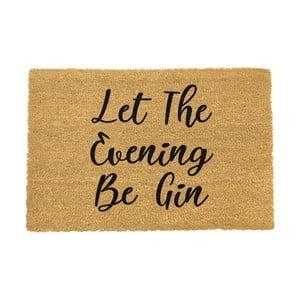 Rohožka Artsy Doormats Let The Evening Be Gin,40x60cm