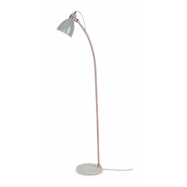 Světle šedá volně stojící lampa s betonovým podstavcem Citylights Denver