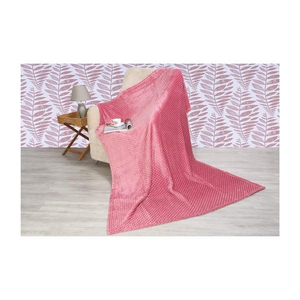 Rose takaró pamut keverékből, 200 x 150 cm - Aksu