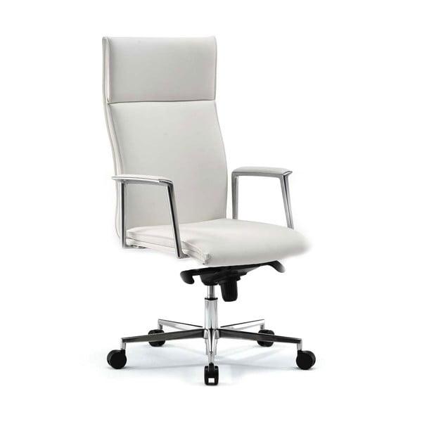 Kancelářská židle s kolečky Mithos Zago, bílá