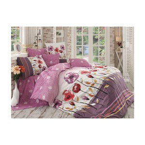 Lenjerie de pat cu cearșaf Amanda, 200 x 220 cm