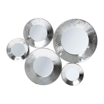 Oglindă perete Kare Design Circoli, argintiu de la Kare Design