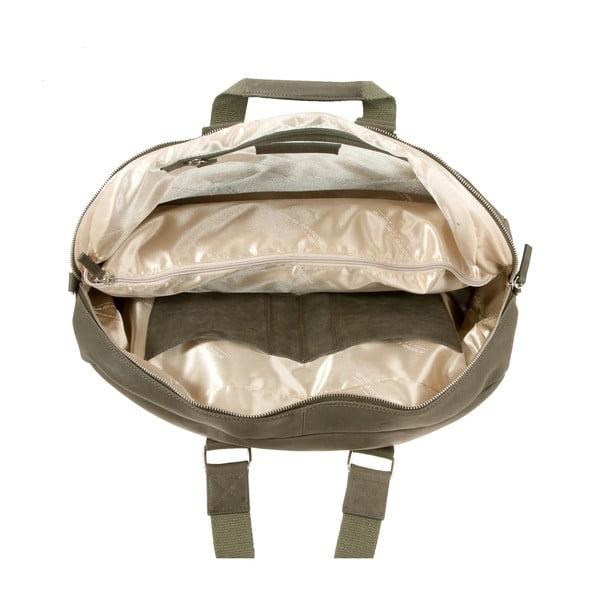 Pánská cestovní taška Vintage Overnight Green Army