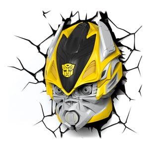Veioză pentru perete cu autocolant Tnet Transformers Bumble Bee
