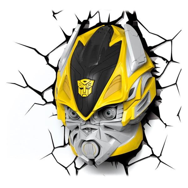 Nástěnné světlo s nálepkou Tnet Transformers Bumble Bee