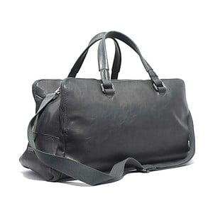 Cestovní taška Bobby Black - šedá, 50x30 cm