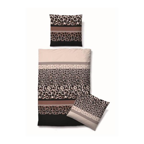 Povlečení Biber Komfort Leopard, 135x200 cm