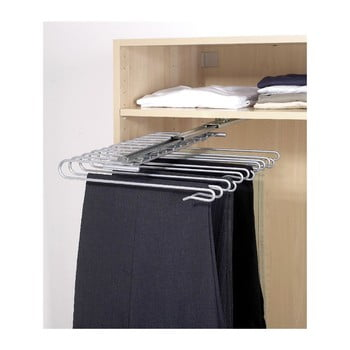 Cuier extensibil pentru pantaloni Wenko Wardrobe imagine