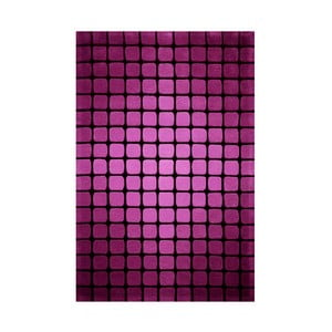 Koberec Casablanca Square 70x140 cm, růžový