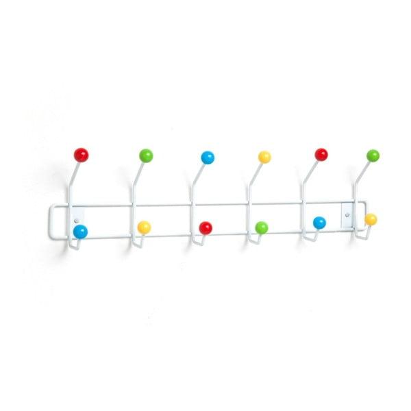 Barevný nástěnný věšák Kare Design Colours